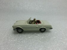 1:87 Wiking 142/4 Mercedes 230 SL Cabrio perlweiss (RC1/3)