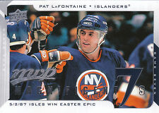 08-09 UPPER DECK MVP MAGNIFICENT 7s PAT LAFONTAINE ISLANDERS *8229
