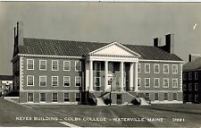Keyes Building, Colby College, Waterville Maine, Education PC Post Card Postcard