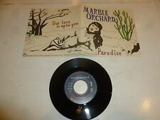 "MARBLE ORCHARD - Paradise - German 2-track 7"" Vinyl Single"