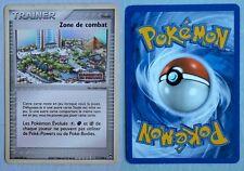 Carte pokemon française d'occasion HOLO TRAINER ZONE DE COMBAT 71/108 LOGO