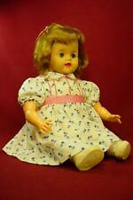 DARLING VINTAGE 1950s IDEAL BABY RUTH DOLL OILCLOTH BODY CUTE AND CLEAN