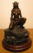 """Princess"" limited edition bronze sculpture by Frank Frazetta and Clayburn Moore"