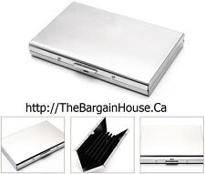 Unisex Stainless Steel / Metal Credit Card / ID / Business Card Holder / Wallet