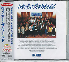 U.S.A. FOR AFRICA-WE ARE THE WORLD-JAPAN DVD+CD C94
