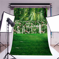 green photography backdrops props vinyl 5x7FT wedding background photo studio
