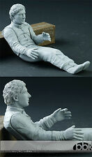 1/12 AYRTON SENNA SITTING FIGURE for TAMIYA McLAREN MP4/6 HIRO MP4/4