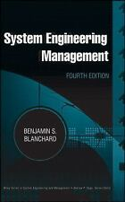 Wiley Series in Systems Engineering and Management Ser.: System Engineering...