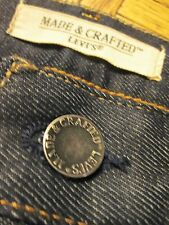"""Levi's Made & Crafted """"Ruler"""" selvedge jeans in rigid, new with tags"""