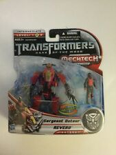 Transformers Dark of the Moon DOTM Human Alliance Sergeant Detour Reverb