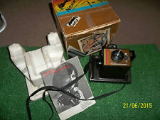 POLAROID COLOUR THE SWINGER MODEL II VINTAGE INSTANT LAND CAMERA BOXED COMPLETE