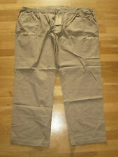 cotton traders mens biscuit brown trousers size 32 leg 27 brand new with tags