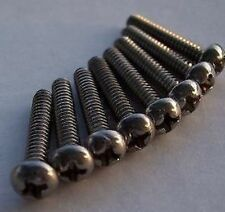Pickup / Switch SCREWS for FENDER STRAT TELE 8 Pack WOW