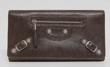 New $625 Balenciaga Cigare Giant Money Arena Leather Wallet Bag