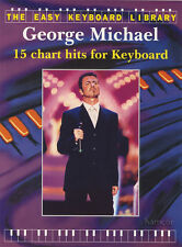 George Michael The Easy Keyboard Library Sheet Music Book