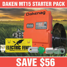 15km MAINS Electric Fence Energiser PACK Energizer 3 YEAR WARRANTY (1.7 JOULES)