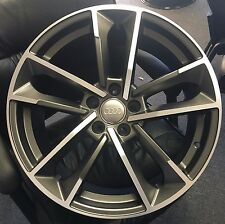 "19"" Audi 2016 Rims RS7 Sportback Wheels with Tires Fit A4 A5 A6 A7 1329 Q5 RS5"