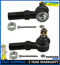 Pair (2) Front Outer Tie Rod Ends for Maxima Altima 240SX I30 Premium Quality