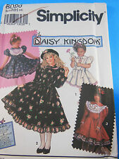 Simplicity Daisy Kingdom 8086 Girl's Dress Pattern - Size 3,4,5,6 Uncut F Folded