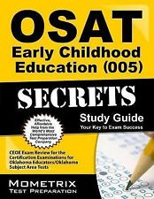 OSAT Early Childhood Education (005) Secrets Study Guide : CEOE Exam Review...