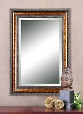 Extra Large Bronze Frame Wall Mirror | Classic Vanity