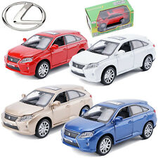 1:32 LEXUS RX 450H SUV Metal Alloy Diecast Model Pull Back Car LED Sound Kid Toy