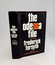 The Odessa File-Frederick Forsyth-SIGNED!!-First/1st Edition/Fifth Printing-RARE