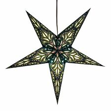 Lotus Paper Star Light Lamp Lantern with 12 Foot Cord Included