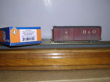 """FOX VALLEY  Baltimore & Ohio """"Capitol Dome"""" R.R.Box Car #380547 Weathered"""
