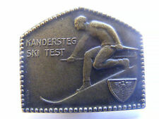 Lapel Pin Badge Kandersteg Ski Test