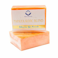 Relumins Triple Papaya Kojic Whitening Bar Soap -Professional Spa Formula - NEW!