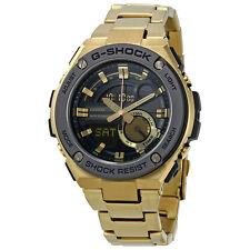 Casio G-Shock Black Digital Dial Gold-Tone Mens Watch GST210GD-1ACR
