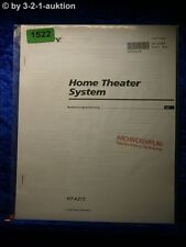 Sony Bedienungsanleitung HT K215 Home Theater System (#1522)