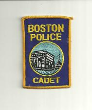 BOSTON MASSACHUSETTS POLICE CADET POLICE PATCH/