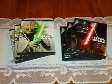 7 Star Wars Slipcovers, perfect STEELBOOK Case protectors