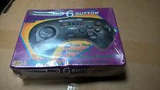 Mega Drive Competition Pro 6 Button Controller - NEW