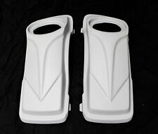 "6x5 "" ARROW  SPEAKER LIDS FOR HARLEY DAVIDSON EXTENDED STRETCHED SADDLEBAGS"