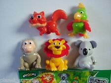 KINDER SURPRISE SET - NATOONS CUTE WILD ANIMALS 2013 - FIGURES COLLECTIBLES