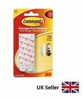3M Command Strips Picture Poster Hanging Hangers Large Refill 6 pack 17023P-ES