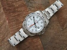 2010 Mens ROLEX EXPLORER II Ref: 216570 - White Dial - Stainless Steel