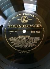 Beatles Please Please Me Mono Gold & Black 1st Dick James credits Nice Copy !!!!