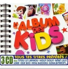 L'Album des Kids- Various Artists CD 3-Discs (Warner France) NEW/SEALED
