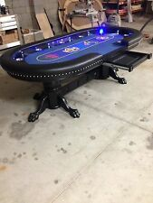 "Deluxe 48""x96"" custom built poker tables by kandjpokertables.com"