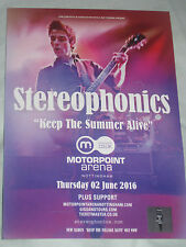 STEREOPHONICS MINI FLYER / ADVERT for live concert KEEP THE SUMMER LIVE