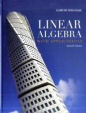 Linear Algebra with Applications. 7th edition. Williams