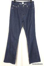 Calvin Klein Jeans 7 VTG 32 Inseam Super High Waist Dark Blue Wash Pristine