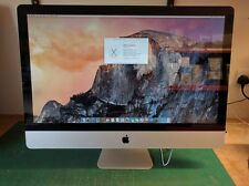 "Apple iMac 27"" Core i5-2500s 2.7Ghz 4GB 500GB AiO PC Mid 2011 A1312"