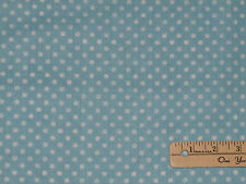 I Love You to the Moon & Back Fabric Blue Dot by the 1/2 Yard  #82455
