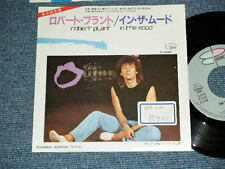 "ROBERT PLANT LED ZEPPELIN Japan 1984 PROMO Ex 7""45 IN THE MOOD"