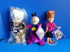 FLINSTONES PEBBLES, BAM BAMM, AND DINO FIGURES 1994